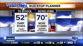 Tuesday morning forecast