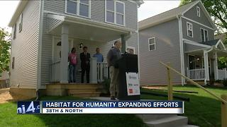 Milwaukee Habitat for Humanity to expand its home building and revitalization efforts in the city - Video