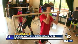 Avoiding the summer brain drain - Video