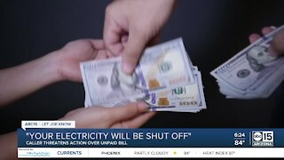 Valley woman warns of utility bill scammers