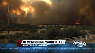Local fire crews remember Yarnell 19 on 5 year anniversary