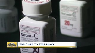 FDA chief to step down