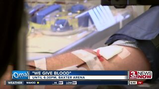 Donate Blood Today at Baxter Arena