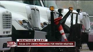 Tulsa crews gearing up for winter weather