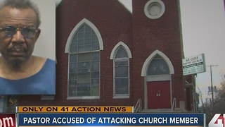 KCMO pastor charged with attacking church member - Video