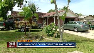 New housing code proposal causing tension in Port Richey