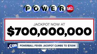 Powerball tickets sales exceed $1 million/hour in NYS - Video