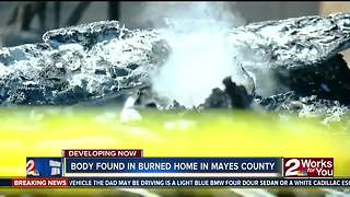 Body found in burned home - Video