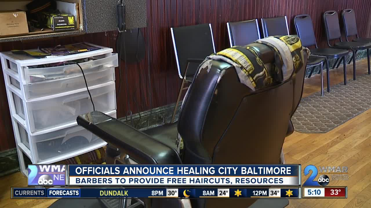 Officials announce Healing City to prevent violence; barbers to provide free haircuts, resources