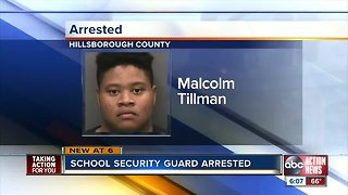 School security officer arrested for sexual battery on elementary student in Tampa