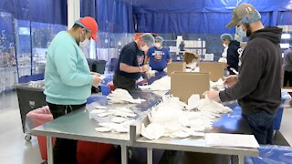 Mentor company making millions of masks, looking to hire more workers