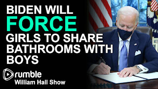 Biden To Force Girls To Share Bathrooms With Boys
