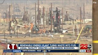Renewable energy company reducing pollution and creating jobs