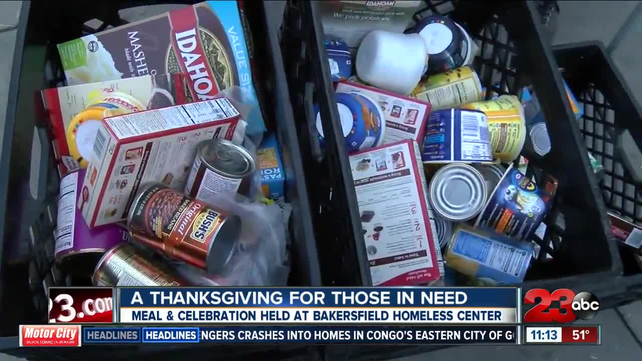 Thanksgiving helping those in need