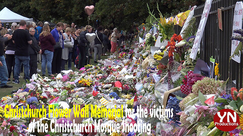 Christchurch's Memorial Walls for the Mosque Shooting victims