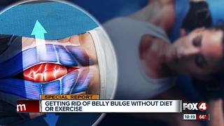 Getting Rid of Belly Bulge Without Diet or Exercise