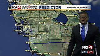 Hot & humid, isolated storms Monday - Video