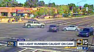 One of city's most dangerous intersections where drivers run red lights - Video