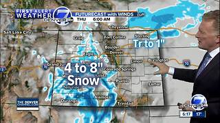 Chilly weather across Colorado through the end of the week - Video