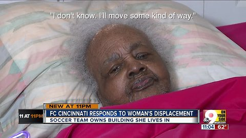 FC Cincy says it won't force 99-year-old to leave apartment