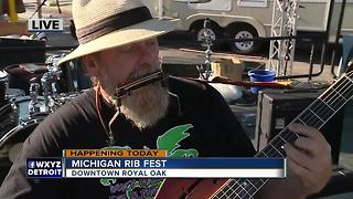 Sweet Willie Tea at Michigan Rib Fest - Video