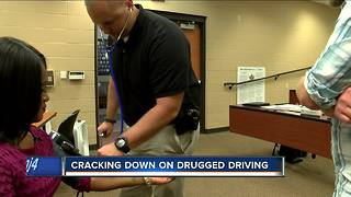Police training on stopping drugged drivers