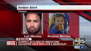 Amber Alert: Toddler abducted from Peoria home - Video
