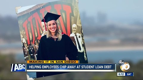 Companies helping employees tackle student loan debt