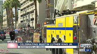 Martin Luther King Jr. Parade in Las Vegas - Video