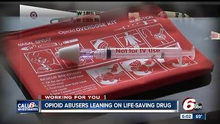 Opioid abusers count on Narcan to save their lives instead of giving up the drugs - Video