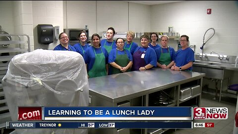 Learning to be a Lunch Lady