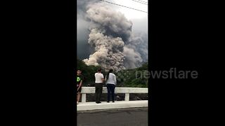 Ash and smoke from Guatemala eruption continues to fill sky as death toll rises - Video