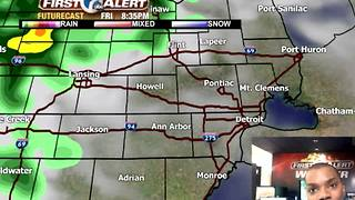 Tracking heavy weekend rain - Video