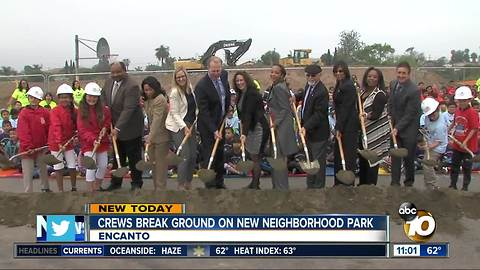Pledge for new San Diego parks
