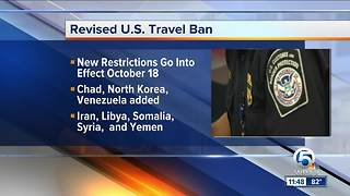 President Trump signs proclamation implementing travel restrictions on 8 countries