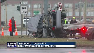 Three women killed in single-car crash in Redford Township - Video