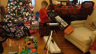 Cutest Christmas Present Fail - Video