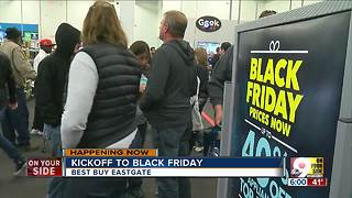 Black Friday begins - Video