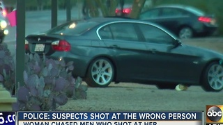 Woman shot at while on Phoenix freeway - Video
