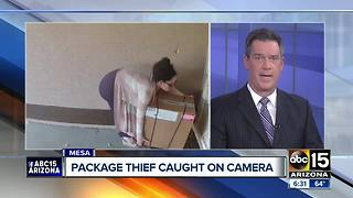 Woman caught on video stealing package from doorstep - Video