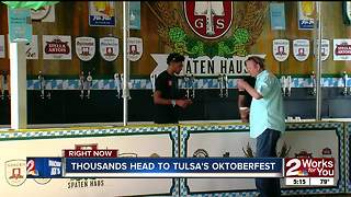 Tulsa's Oktoberfest brings in thousands - Video