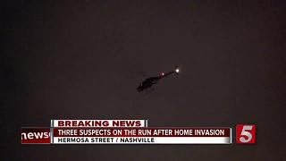 Shots Fired At Officers During Violent Home Invasion - Video