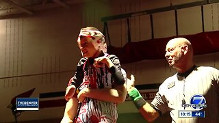 HS senior with cerebral palsy gets a chance to wrestle