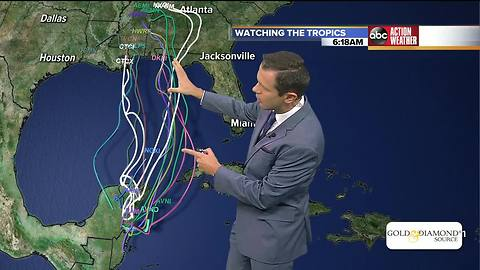 NHC: 70% chance for tropical system to develop in the Gulf of Mexico