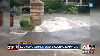 KC's aging infrastructure costs taxpayers - Video