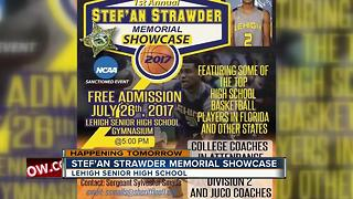 Stef'an Strawder Memorial Showcase Wednesday - Video