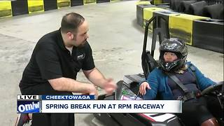 Safe, fun, family experience at RPM Raceway this spring break - Video