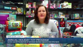 Blood Cancer Foundation of Michigan Holiday Toy Program