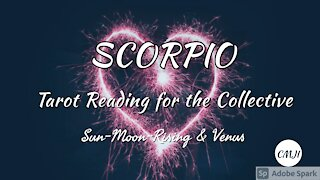 SCORPIO ANXIOUS TO GET STARTED
