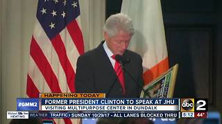 Bill Clinton coming to Baltimore to discuss opioid epidemic - Video